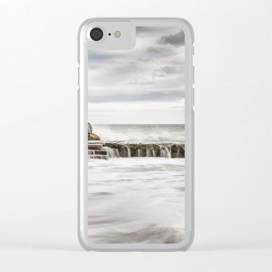 Ocean Sorm 4 Clear iPhone Case
