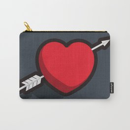 Shot to the Heart Carry-All Pouch