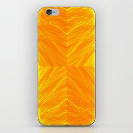 Golden Suitcase iPhone Skin