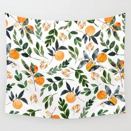 Orange Grove Wall Tapestry