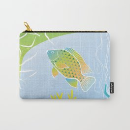 Sea Something Fishy Carry-All Pouch