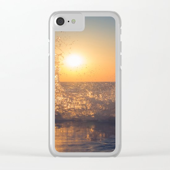 Say Goodbye Clear iPhone Case