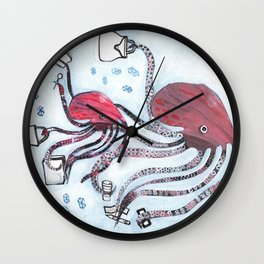 Bargain Hunters Wall Clock