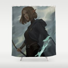 The trespasser Shower Curtain