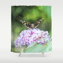 Butterfly IV Shower Curtain
