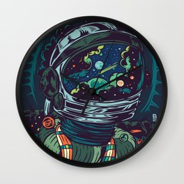 Center Of The Universe Wall Clock