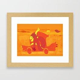 Gone! Framed Art Print