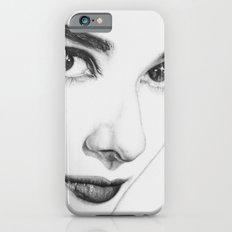 Audrey Hepburn (minimal) iPhone 6s Slim Case