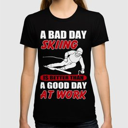 Skiing Lover Shirt. Costume Ideas For Daughter/Son. T-shirt
