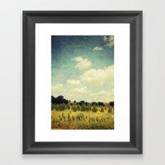 Summer Walk 2 Framed Art Print