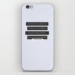 Become iPhone Skin