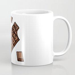 Chocoholic Illustration Coffee Mug