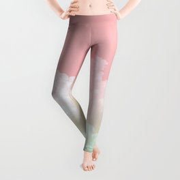 Dreamy Watermelon Sky Leggings