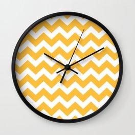 Luxury art in shop : gold, white Wall Clock