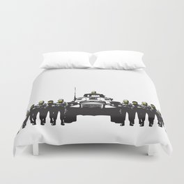Banksy Have a nice day Duvet Cover