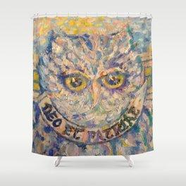 The Owl Shower Curtain