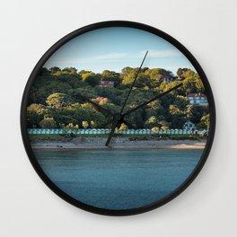 Langland bay Gower Wall Clock