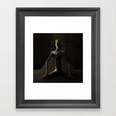 Wholly Weak Framed Art Print