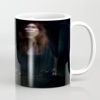 bed Mugs featuring Bed by Annamaria Kowalsky