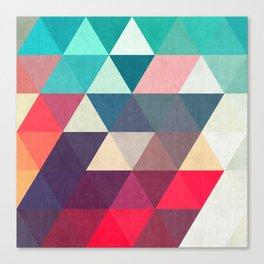 Modern triangular composition VII Canvas Print