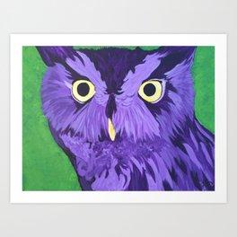 Wonderment in Purple Art Print