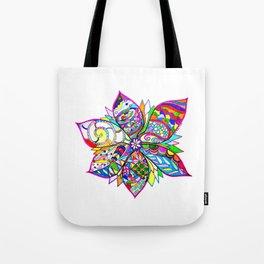 Crazy Flower Tote Bag