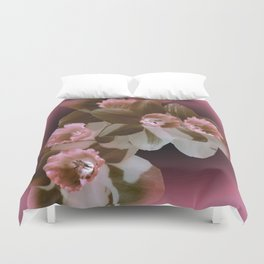 Enchanted Daffodils Duvet Cover