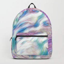 Pastel Penny the Yorkipoo art Backpack