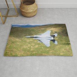 Low Flying F-15E Strike Eagle Rug