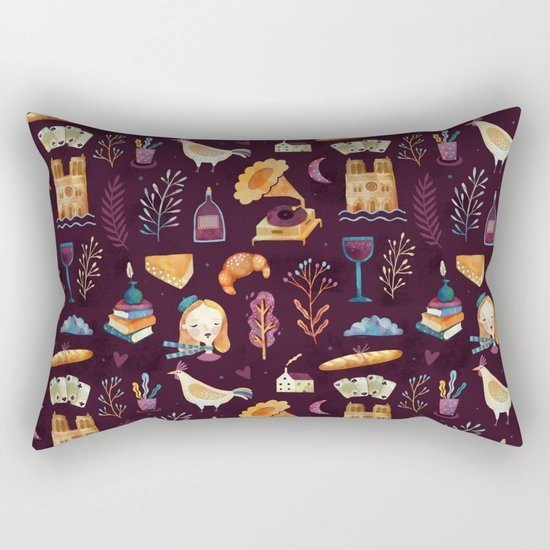 French spirit Rectangular Pillow
