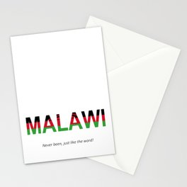 MALAWI Never been, just like the word! Stationery Cards