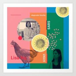 Beyond Curie: Lisa Ng Art Print