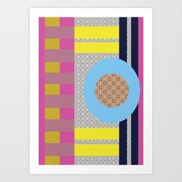 Mix n Match with Circle Art Print