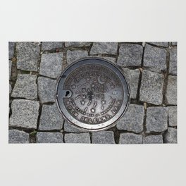 New Orleans Iron Water Utility Cover Rug