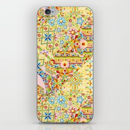 Sunshine Crazy Quilt (printed) iPhone Skin