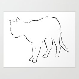 Cat 7 Art Print