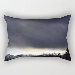A storm is comin' Rectangular Pillow