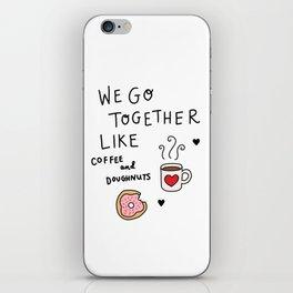 Like Coffee and Donuts iPhone Skin