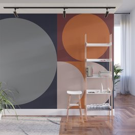 Shades of Autumn #Pantone #color #decor Wall Mural
