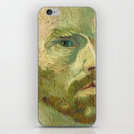 Self Portrait (dedicated to Paul Gauguin) iPhone Skin