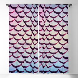 Mermaid Scales Blackout Curtain