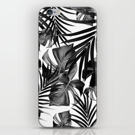 Tropical Jungle Leaves Pattern #10 #tropical #decor #art #society6 iPhone Skin
