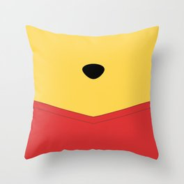 Rumbly in my tummy - Pooh Throw Pillow