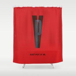 Typeporn Vol.2 Shower Curtain