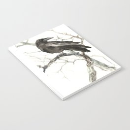 Raven on the Tree Notebook