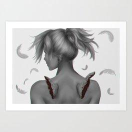 The Fallen Angel Art Print