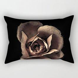 Rose noire colors fashion Jacob's Paris Rectangular Pillow