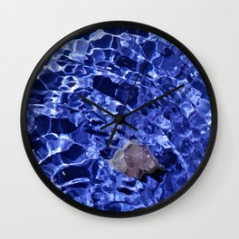 Upward Amethyst Vibes Wall Clock