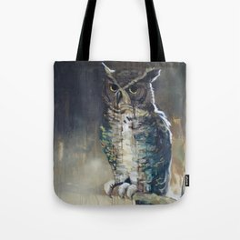Undead Owl Tote Bag