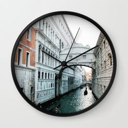 Canal Wall Clock